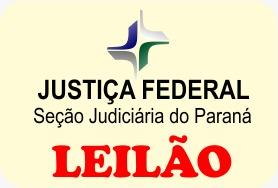 Leilão da 19ª Vara Federal de Curitiba/PR