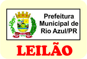 Leilão da Prefeitura Municipal de Rio Azul/PR